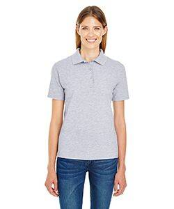 Hanes Ladie's X-Temp Pique Polo Shirt with Fresh IQ