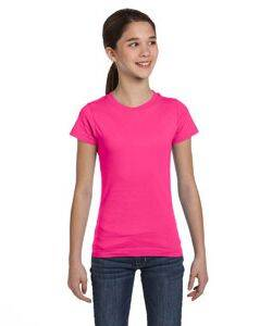 LAT Girls'  Fine Jersey T-Shirt