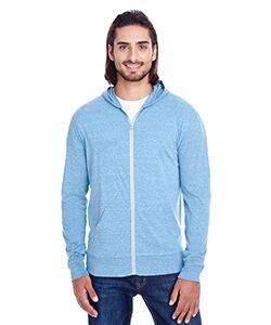 Threadfast Apparel Unisex Triblend Full-Zip Hoodie