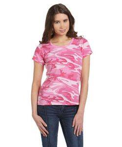 Code V Ladie's Camouflage T-Shirt
