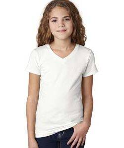 Next Level Girl's Adorable V-Neck Tee