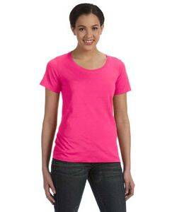 Anvil Ladies' Sheer Scoop Neck T-Shirt