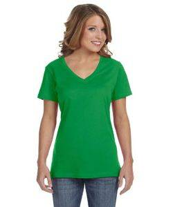 Anvil Ladies Featherweight V-Neck T-Shirt