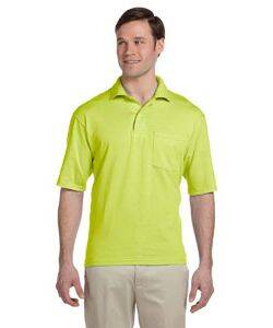 Jerzees 50/50 Jersey Knit Polo W/Pocket