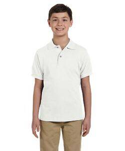 Jerzees Youth Ringspun Cotton Pique Polo Shirt