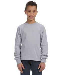 Fruit of the Loom Youth Heavy Cotton Long-Sleeve T-Shirt