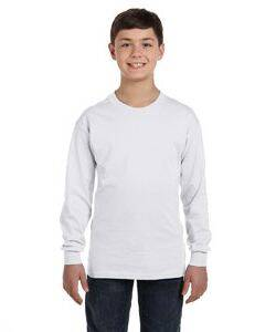 Hanes Youth Tagless ComfortSoft Long-Sleeve T-Shirt
