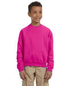 Jerzees Youth Light-Weight Crewneck Sweatshirt