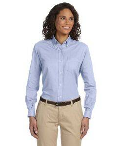 Van Heusen Ladies' Long-Sleeve Wrinkle-Resistant Oxford