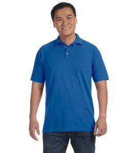 Anvil Cotton Deluxe Pique Knit Polo Shirt