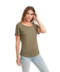 Next Level Ladie's Triblend Dolman