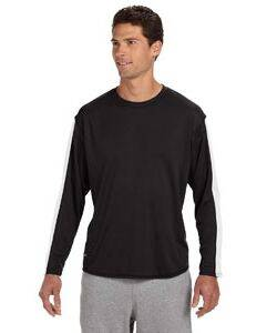 Russell Athletic Dri-Power Long-Sleeve Performance T-Shirt