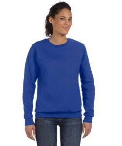 Anvil Ladie's Combed Ringspun Cotton Blend Crew Neck Sweatshirt