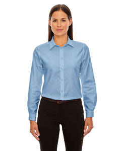 North End Windsor Ladie's Long Sleeve Oxford Shirt
