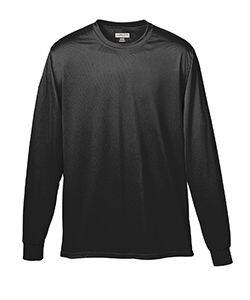 Augusta Long Sleeve Moisture Wicking T-Shirt