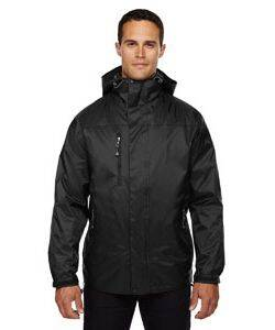 North End Men's 3-In-1 Techno Performance Hooded Jacket