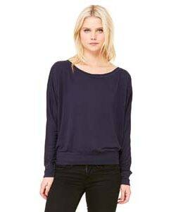Bella Ladie's Long Sleeve Dolman Top