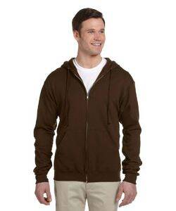 Jerzees Lightweight Full-Zip Hooded Sweatshirt
