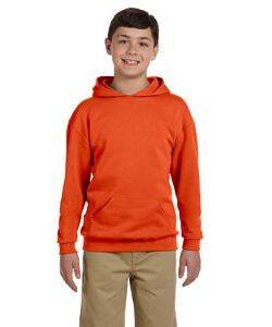 Jerzees Youth 50/50 Fleece Hooded Sweatshirt