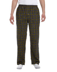 Robinson Apparel Button-Fly Flannel Pants