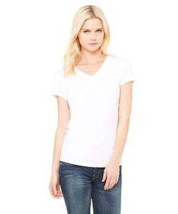 Bella Ladie's Short-Sleeve V-Neck T-Shirt