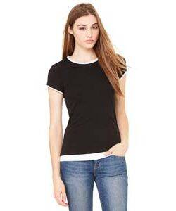 Bella Ladies' Sheer 2-in-1 T-Shirt
