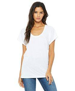 Bella Ladies' Flowy Raglan T-Shirt