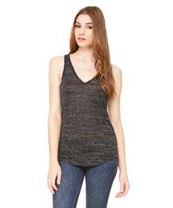 Bella Ladie's Flowy V-Neck Tank