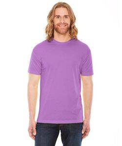 American Apparel Unisex Poly-Cotton Short-Sleeve Crewneck
