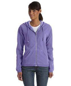 Comfort Colors Ladies' Garment-Dyed Full-Zip Hoodie