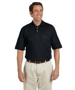 Chestnut Hill Performance Pique Polo with Pocket
