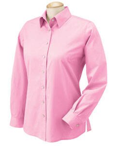 Chestnut Hill Ladies' Long-Sleeve Twill Shirt