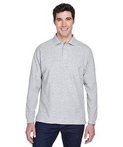 Devon & Jones Fine Pima Pique Long Sleeve Polo Shirt