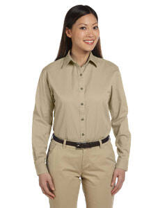 Devon & Jones Ladies' Long-Sleeve Titan Twill Shirt