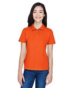 Harriton Ladies Cotton Pique Polo Shirt