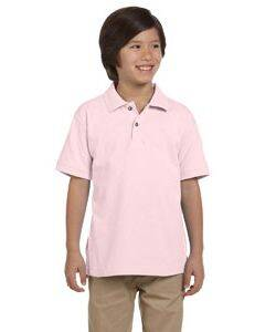 Harriton Youth Pique Knit Polo Shirt