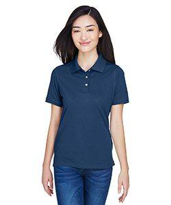 Harriton Ladie's Easy Blend Polo Shirt