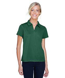 Harriton Ladies' Double Mesh Polo Shirt