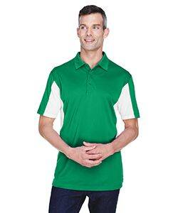 Harriton Side Block Micro-Pique Polo Shirt