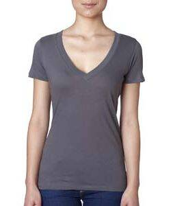 Next Level Ladie's Deep V-Neck Tee
