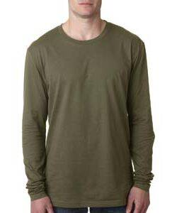 Next Level Men's Premium Long-Sleeve Tee