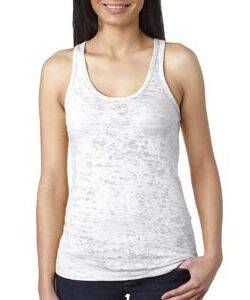 Next Level Ladie's Burnout Racerback Tank