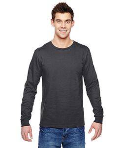 Fruit of the Loom 100% Sofspun Cotton Long-Sleeve T-Shirt