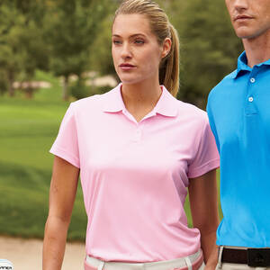 Adidas Golf Ladie's ClimaLite Pique Polo Shirt