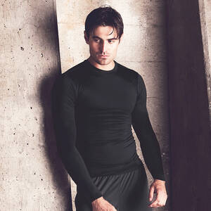 Alo Men's Long-Sleeve Compression T-Shirt