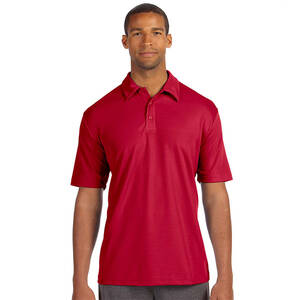 Alo Sport Men's Performance Three-Button Mesh Polo