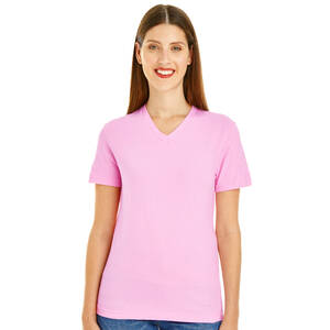 American Apparel Ladies Fine Jersey Classic V-Neck Tee