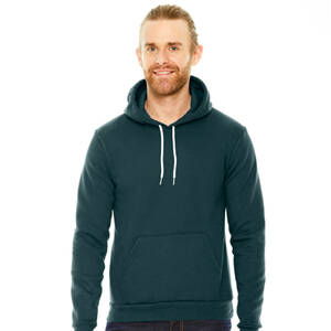 American Apparel Unisex Flex Fleece Drop Shoulder Pullover Hoodie
