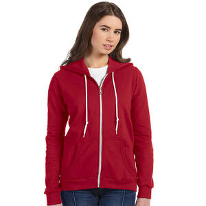 Anvil Ladie's Combed Ringspun Fashion Full-Zip Hoodie