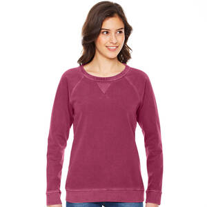 Authentic Pigment Ladie's French Terry Crewneck Sweatshirt